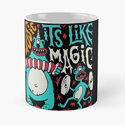 Monkey Circus Show Magical - Best Gift Ceramic Coffee Mugs