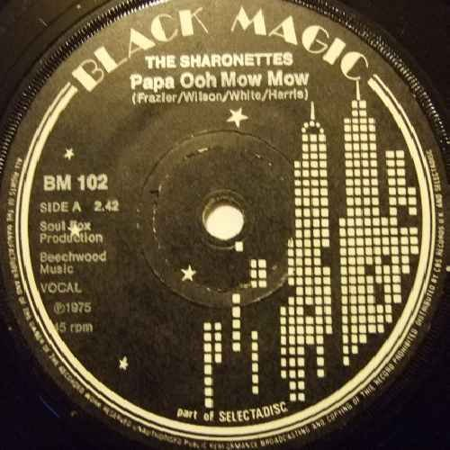 Price comparison product image Sharonettes - Papa Ooh Mow Mow - 7 inch vinyl / 45