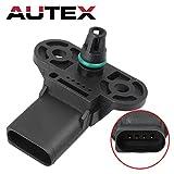 AUTEX 3C906051 AS367 Manifold Pressure MAP Sensor compatible w/AUDI A6 A7 A8 QUATTRO 13-14 Q5 Q7 13-14 Q7 2011 S4 S5 10-11 13-14 SQ5 2014 V6 3.0L VOLKSWAGEN GOLF 13-14 L4 2.0L TOUAREG 13-14 V6 3.0L