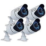 Night Owl Security Hi-Resolution 900 TVL Security Cameras with 100-Feet Night Vision