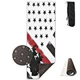 Firefighter Red Line Flag.jpg,Eco-Friendly Non-Slip Yoga Mat Thick Pro Exercise and Pilates Mat with A Yoga Bag Waterproof Yoga Mats Fitness
