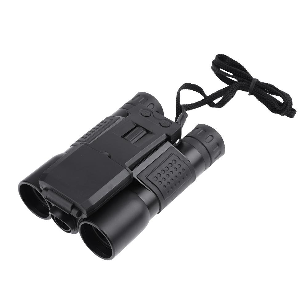 MKChung USB Digital Binoculars, 2'' LCD Screen HD 720p 96m/1000 Meters DVR Zoom Telescope Camera Photography Video For World Cup Viewing