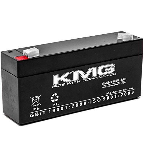 Mcgaw 2001 Intell Pump - KMG 6V 3 Ah Replacement Battery for Mcgaw 2001 INTELL PUMP INFUSOR (1993 REV A2150)