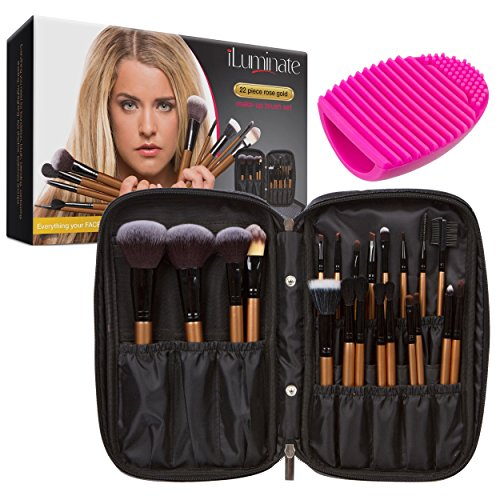 22pc Professional Makeup Brush Set product image