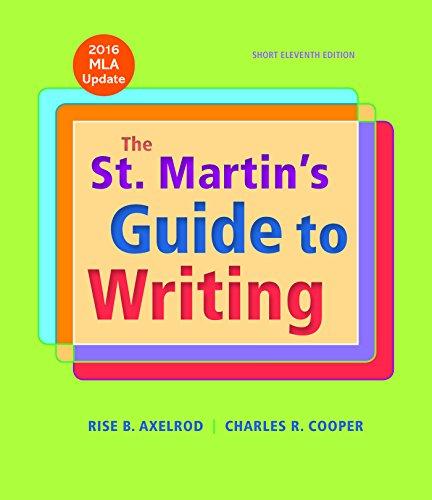 St.Martin's Gde.To Writ.Short,Mla Updtd