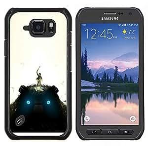 Stuss Case / Funda Carcasa protectora - Gigante de peluche - Samsung Galaxy S6Active Active G890A