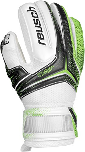 Reusch Soccer Receptor SG Finger Support Junior Goalkeeper Glove, 4, Pair