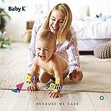 BABY K Foot Finder Socks & Wrist Rattles - Newborn