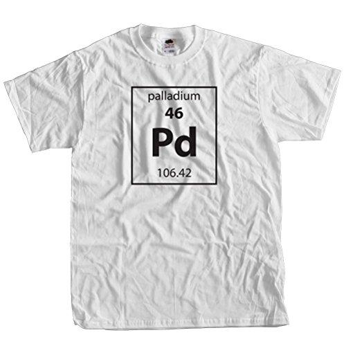 (Fast Yeti Tees Adult Palladium-Element t-shirt ST 5XL White)