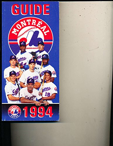 1994 Montreal Expos Media Press Guide MLBmg1