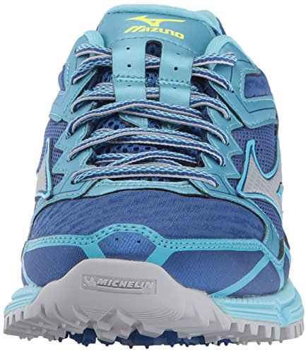 Chip Shoe US Micro Mizuno 6 Bl 2 Topaz M True Running Women's Wave Trail Daichi Blue CCvHq