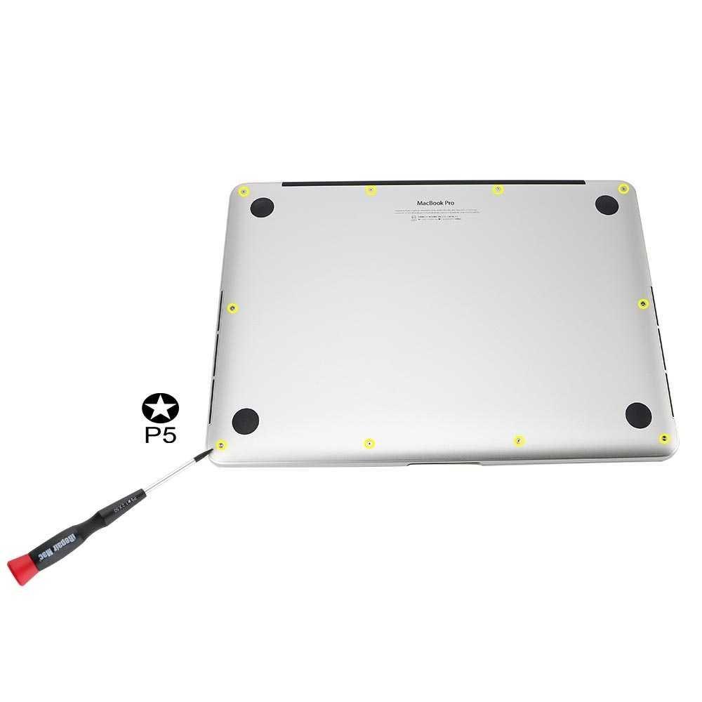 A1369, A1466 et 13 tous les mod/èles Vis /à fond et visseuses Pentalobe pour Macbook Air 11 A1370, A1465