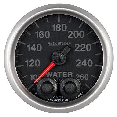 Auto Meter 5654 Elite Series Water Temperature Gauge by Auto Meter (Image #1)