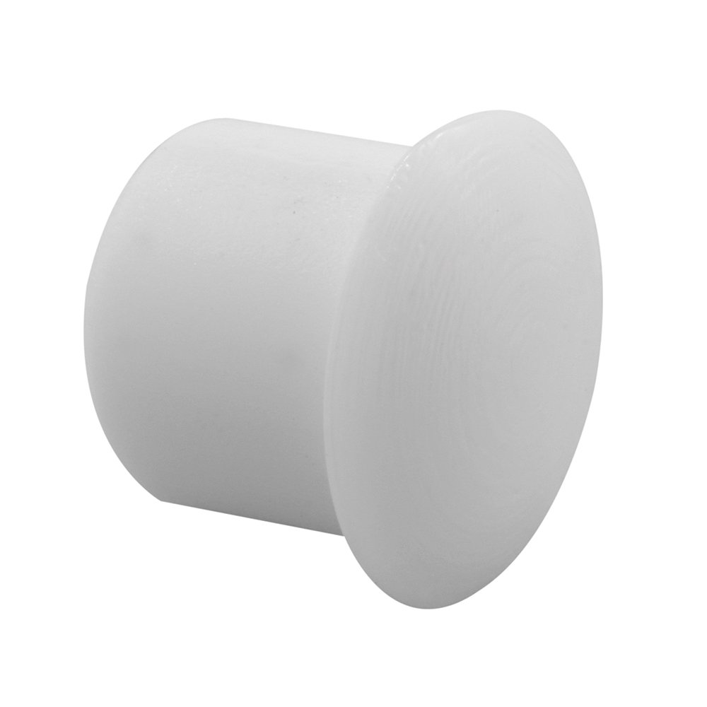 Prime-Line Products U 10033 Shelf Peg Hole Plugs, 5mm, Plastic, White, Push-In (Pack of 48)