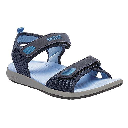 Regatta Lady Terrarock - Zapatillas de running Mujer Navy Blazer / Powder Blue