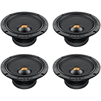 Hertz SV200.1 8-Inch Mid Range Car Audio Speakers (2 Pair)