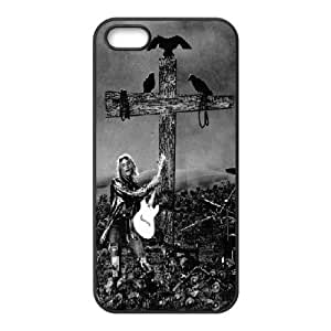 LSQDIY(R) Kurt Cobain iPhone 5,5G,5S Case, Custom iPhone 5,5G,5S Phone Case Kurt Cobain