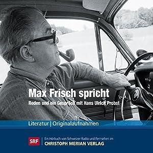 Max Frisch spricht Hörbuch