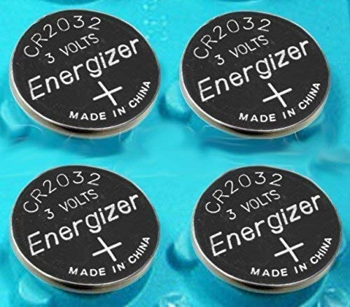 (Pack of 4 -- Energizer Cr2032 3v Lithium Coin Cell Battery Dl2032 Ecr2032)