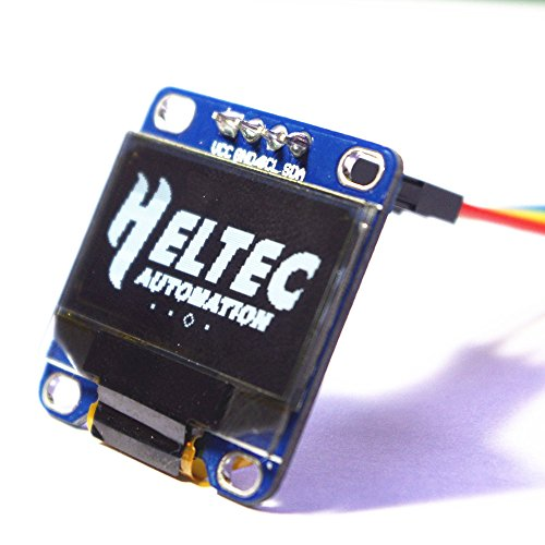 Heltec Automation HTDS-WI96 0 96inch OLED Module White IIC I2C  Comminication 12864 3 3-5V For Arduino Display 51 Msp420 Stim32 SCR