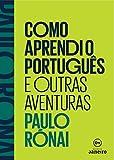 capa de Como Aprendi o Português e Outras Aventuras