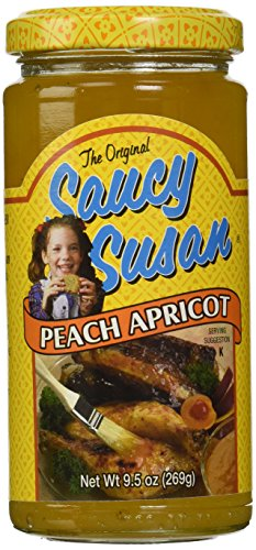 Apricot Dipping Sauce - Saucy Susan Peach Apricot Sauce, 9.5 Ounce