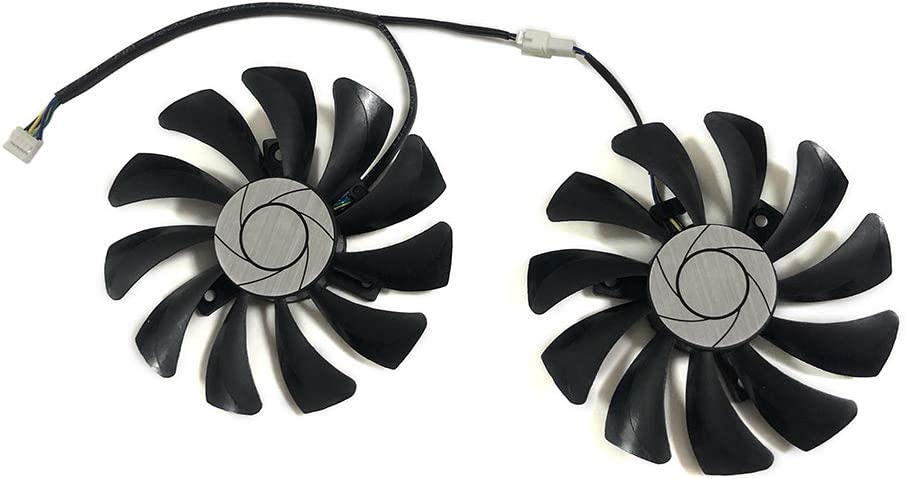Graphics Card Fans HA9010H12F-Z for MSI GeForce-GTX-950-2GD5T-OCV2 GTX-960-2GD5T-OCV2 GeForce GTX1060 GTX-1060-6GT-OC INNO3D GTX 1060 6GB Video VGA Cards Cooling (4Pin 90mm 40mmX40mm Dual Fan)