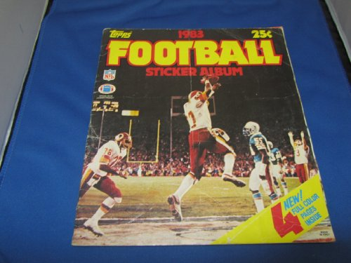 (Topps 1983 Football Sticker Album)