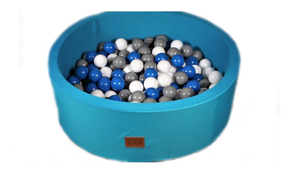 Cristal Golden Kids B/ällebad Spielb/älle Kinder Spielbecken Ball B/ällepool OHNE B/älle Beige - 90x90x30cm