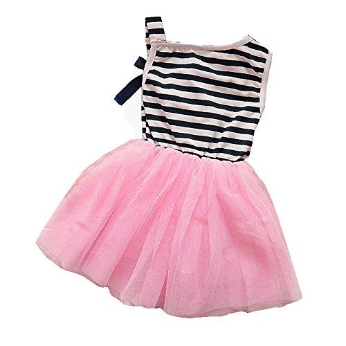 niceEshop(TM) Kids Girls Princess Fashion Bow Sundress Party Dress Skirt