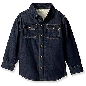 Crazy 8 Boys' Little Sherpa Lined Denim Shirt Jacket