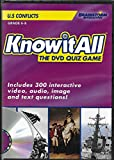 Knowitall The DVD Quiz Game: U.S. Conflicts (Includes 300 Interactive Video, Audio, Image and Text Questions) Grades 6-8