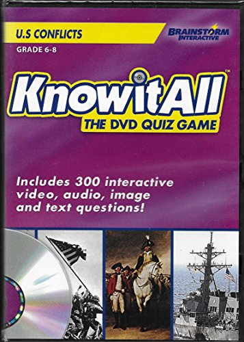 (Knowitall The DVD Quiz Game: U.S. Conflicts (Includes 300 Interactive Video, Audio, Image and Text Questions) Grades 6-8)