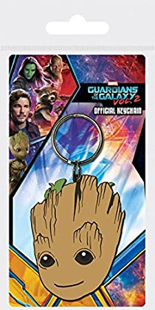 1art1® Guardianes De La Galaxia - Vol. 2, Baby Groot Llavero ...