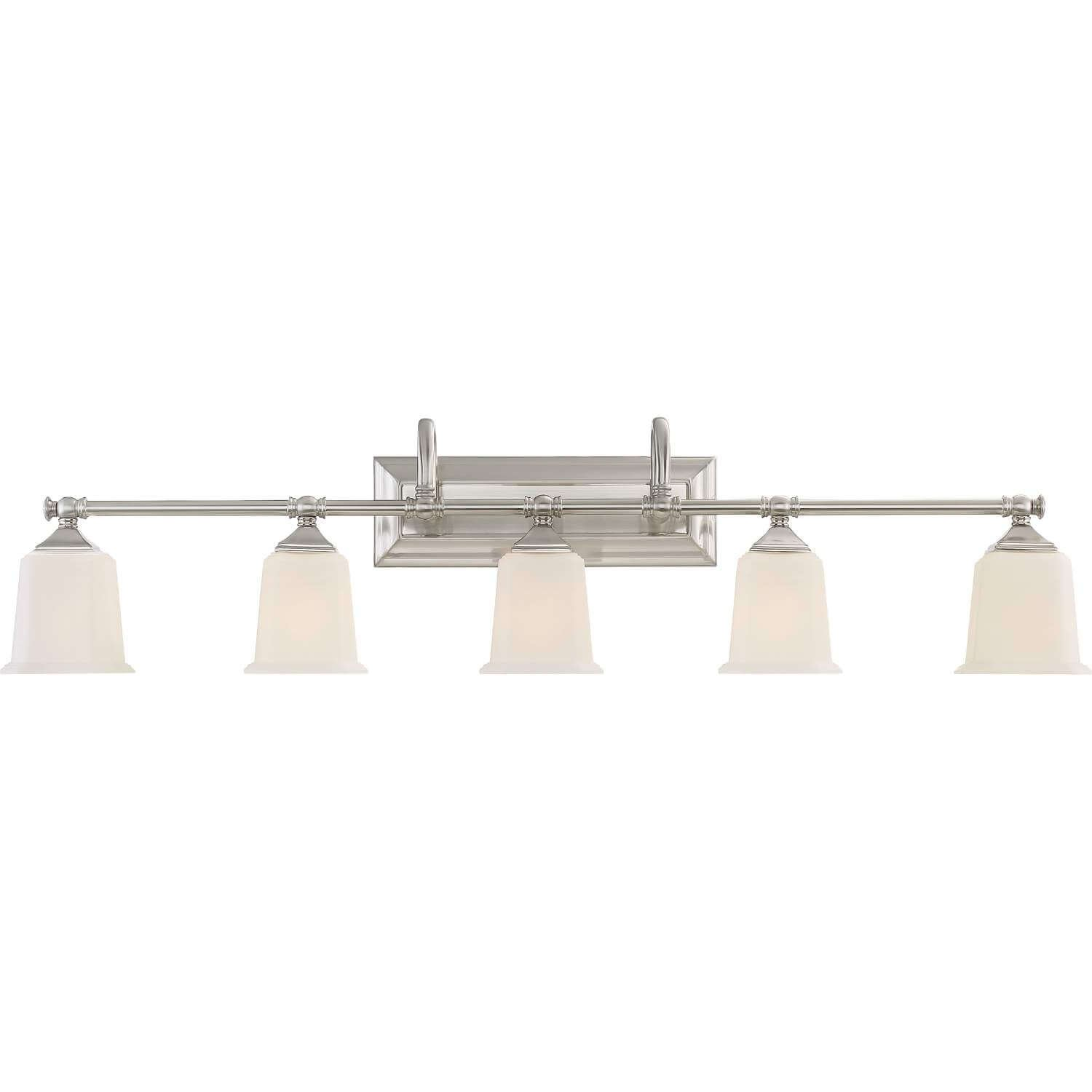 Bidwell Lighting Holt 42 Wide Vanity Light – Brushed Nickel