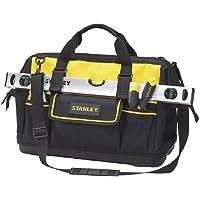 Stanley Stst74319/8 Fermuarlı Bez Takım Çantası, Siyah/Sarı