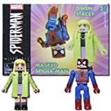 Minimates Marvel Masked SpiderMan and Gwen Stacy