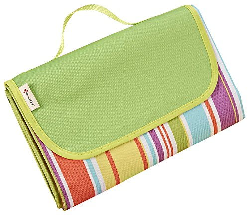 e-joy Beach Blanket Mat, Rainbow]()