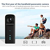Mini Digital Action Camera Handheld Camcorder Portable Pocket Camera Video for Action Sports, Surveillance, and Skydiving/Bungee Jumping