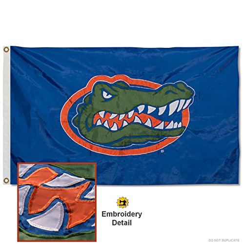 UF Gators Nylon Embroidered Flag product image