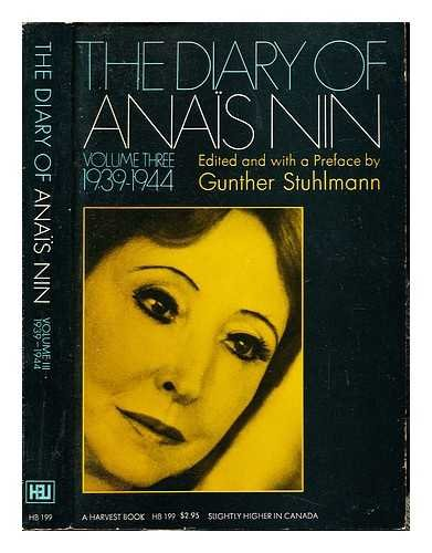 The journals of Anais Nin 1939-1944 (volume 3)