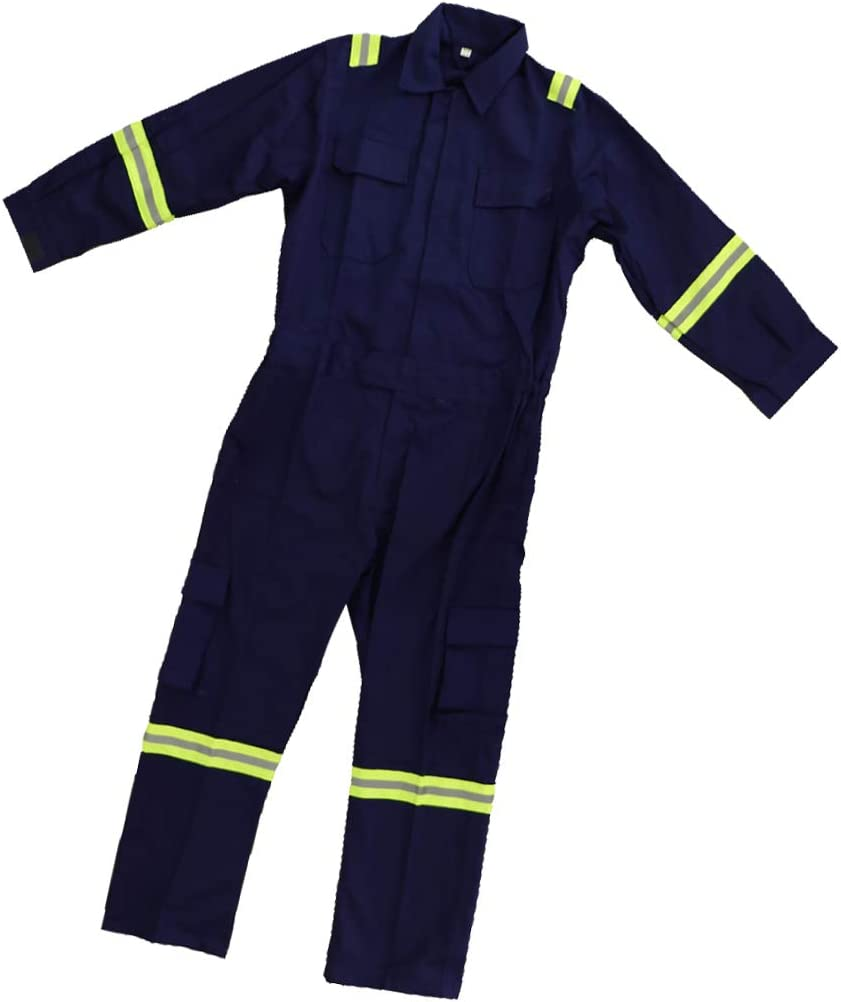 Azul Hombres Mujeres Monos Ropa De Trabajo Antiestática Mecánico Mono Protector - Azul XL: Amazon.es: Oficina y papelería