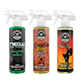 car air freshener chemical guys - Chemical Guys AIR_301 New Car/Leather/Stripper Scent kit, 16 fl. oz