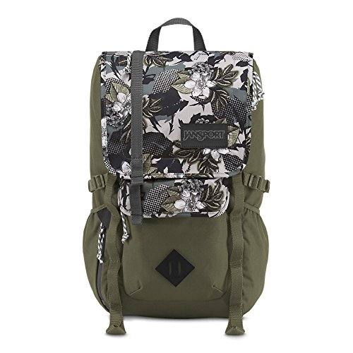 Russel Men's Jansport Unisex Hatchet Halftone Camo Backpack, Green, Standard by Russel