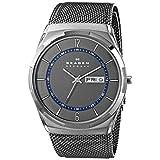 Skagen Men's SKW6078 Melbye Grey Titanium Mesh Watch