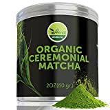 4 Pack uVernal WellBeing Organic Ceremonial Matcha - Best Taste - USDA Organic -Energy Booster - Green Tea Powder 2oz