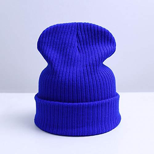 F Moda Gorros Unisex De para Caliente Invierno Punto Sombrero Hombres Mujeres De Blue OUOCMZ Sombrero Gorro Sombrero De De Punto BwU8TqfnI