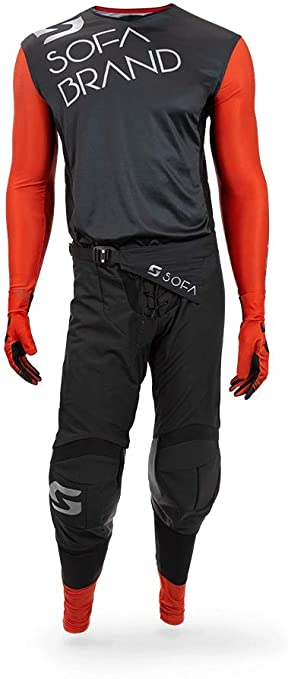 Pants W28 // Jersey Small ONeal Element Factor Gray//Orange//Blue Adult motocross MX off-road dirt bike Jersey Pants combo riding gear set