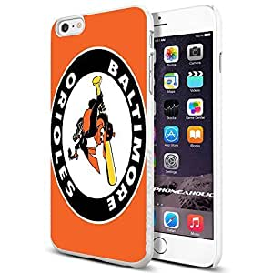 diy zhengMLB Baltimore Orioles American Professional Baseball Team,Cool iphone 5/5s Smartphone Case Cover Collector iphone TPU Rubber Case White