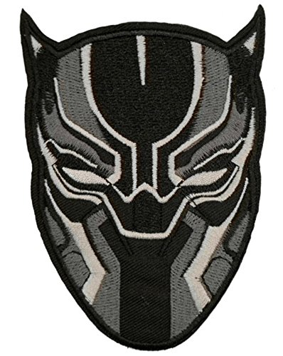 BLACK PANTHER Patch WAKANDA Superhero Comics Logo Character Theme Series New 2018 Marvel Movies Embroidered Sew/Iron on Badge DIY Appliques